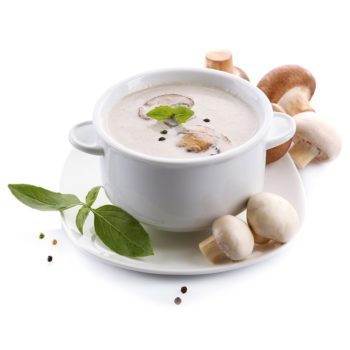 Champinjonsoppa Protein för viktminskning