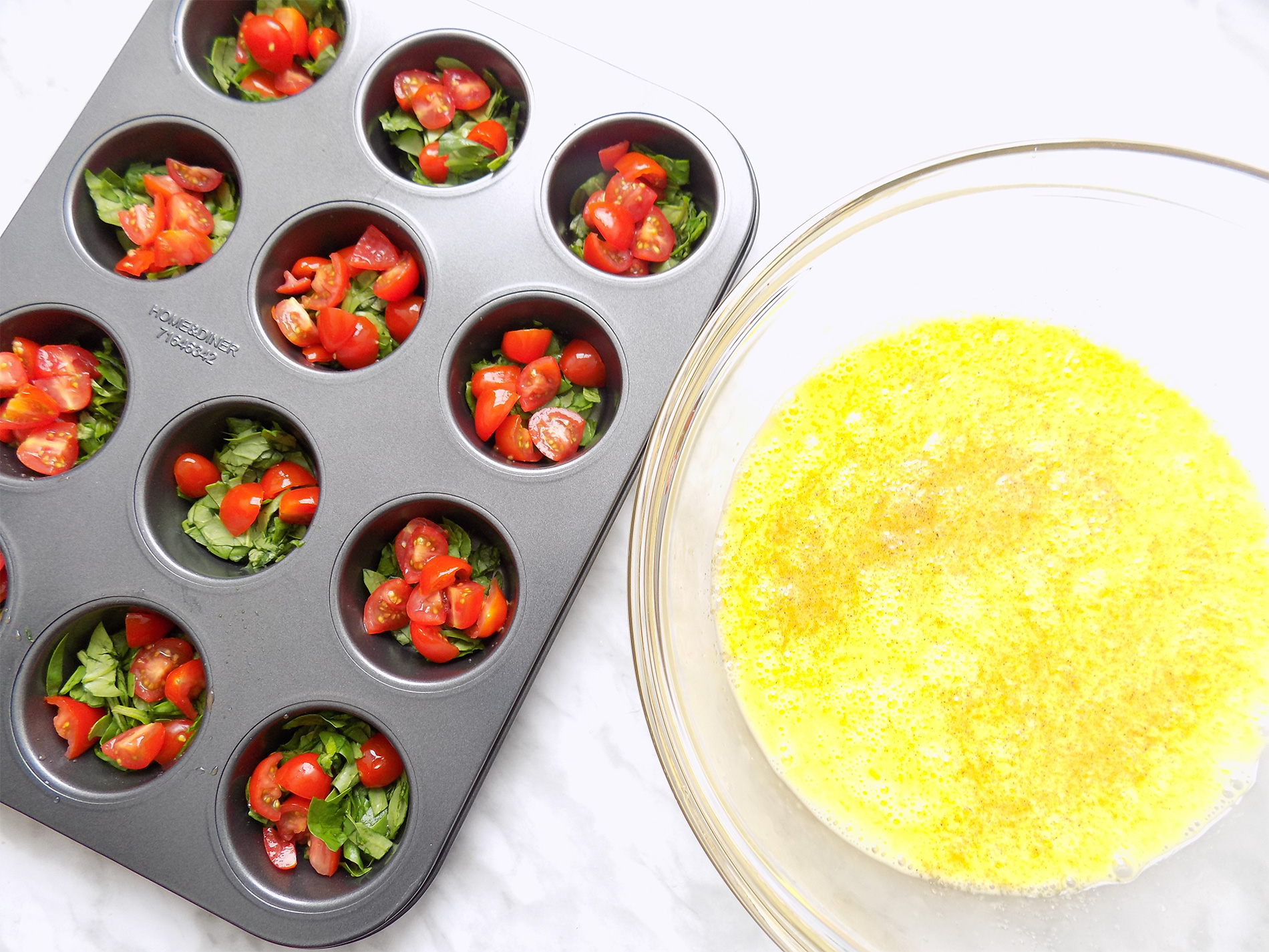 Mini-omelett keto