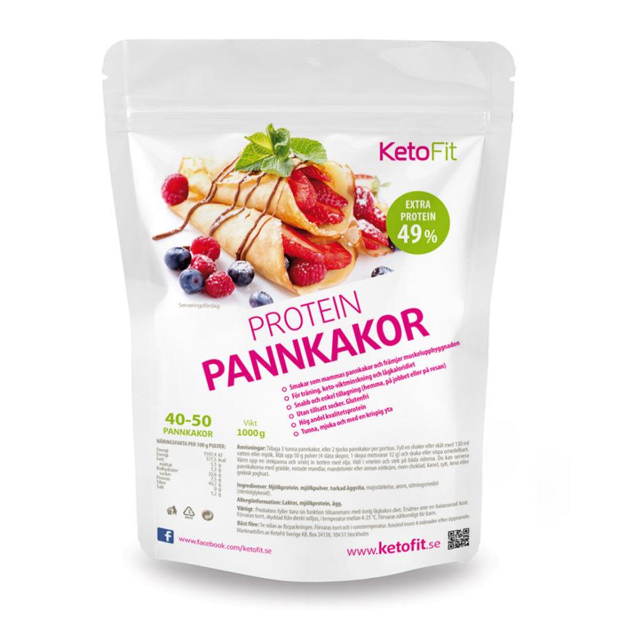 Protein pannkakor