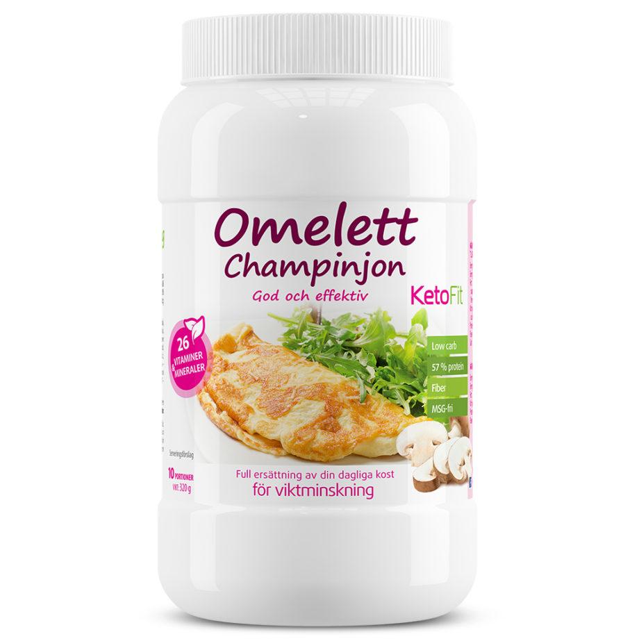 Proteinomelett Champinjon för vitminskning