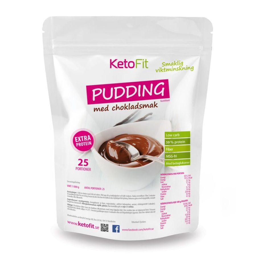 Chokladpudding viktminskning