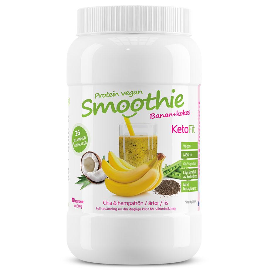 Proteinsmoothie Banan för viktminskning