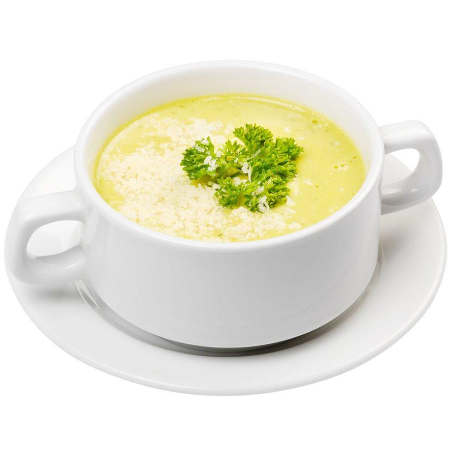 Purjolök och ostsoppa protein för viktminskning