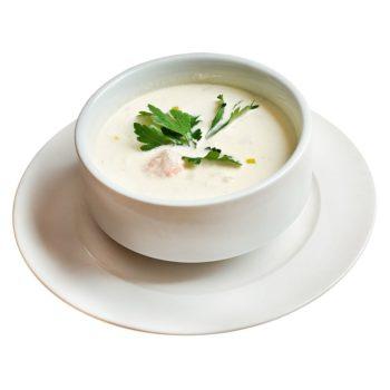 Vitlökssoppa protein för viktminskning
